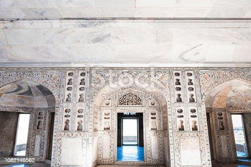 istock Musamman Burj at Agra Fort in Agra, India 1082146562