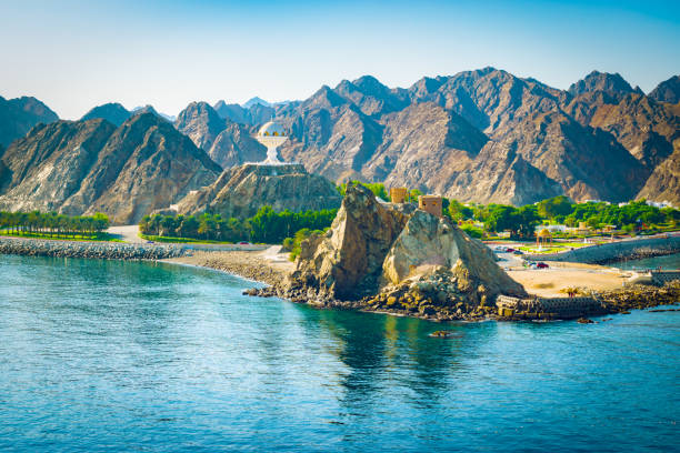 muscat, oman. - oman travel stock-fotos und bilder