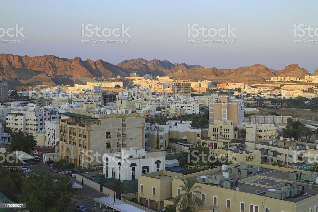 Muscat stock photo