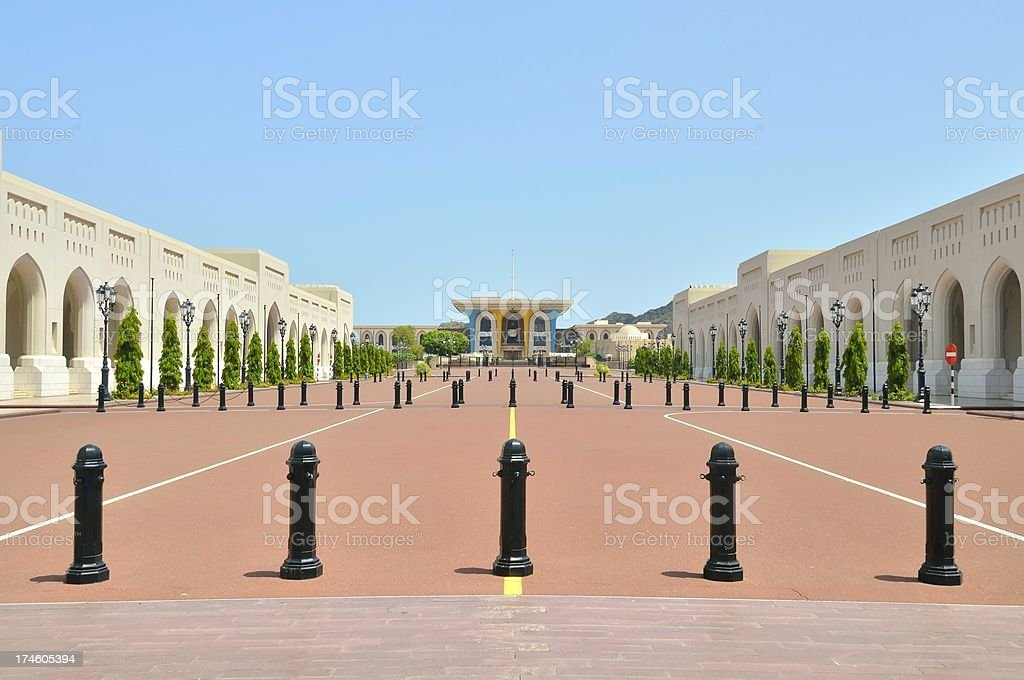Muscat Palais du Sultan Qaboos Plaza - Photo