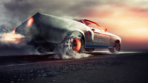 600 Car Doing Donuts Stock Photos, Pictures & Royalty-Free Images - iStock