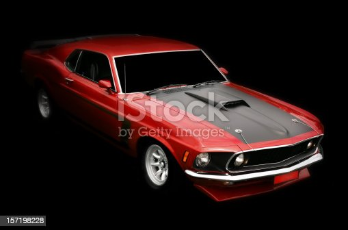 istock Muscle Car 157198228