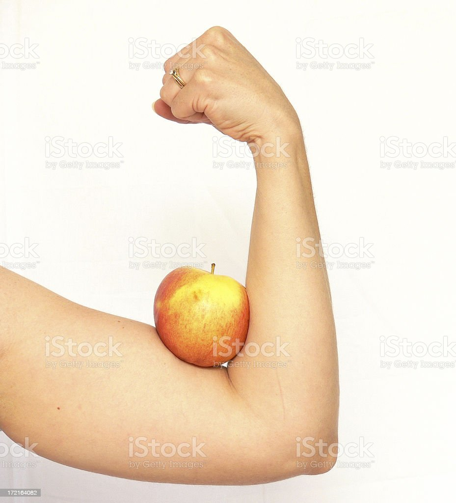 Muscle Food royalty-free stock photo