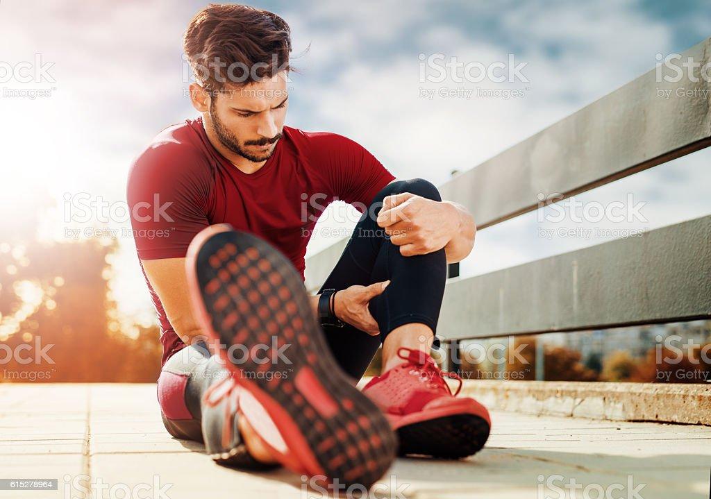 Muskel Verletzungen – Foto