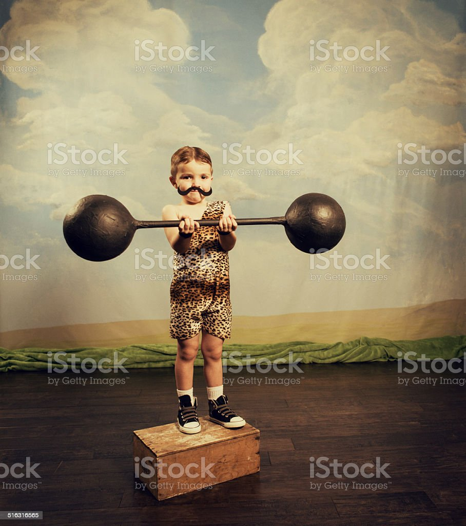 Muscle Master stock photo