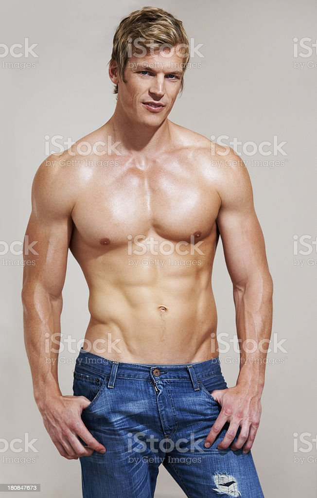 Muscles everywhere! stock photo