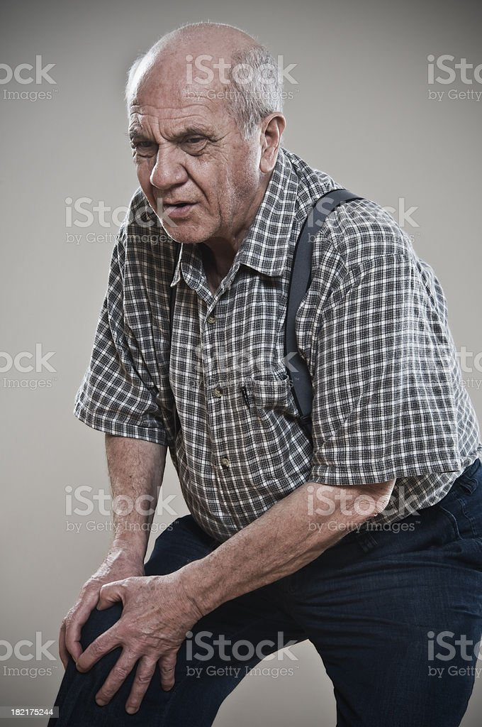 muscles  pain royalty-free stock photo