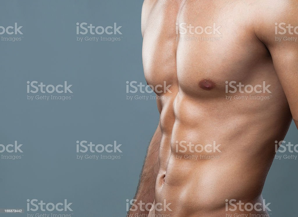 muscular body royalty-free stock photo
