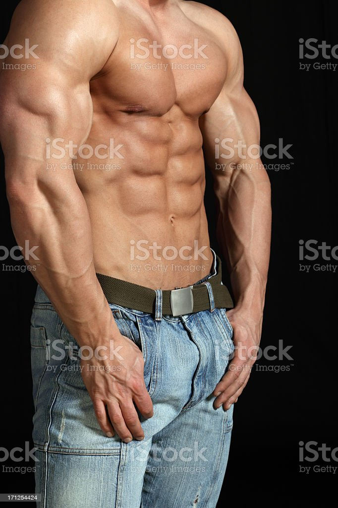 Muscular Male Body Stock Photo More Pictures Of Abdomen Istock