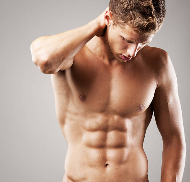 Naked Anatomy Men Male Stock Photos, Pictures & Royalty