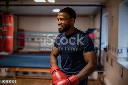 1069872470istockphoto Muscular Male Preparing to Box 904635138
