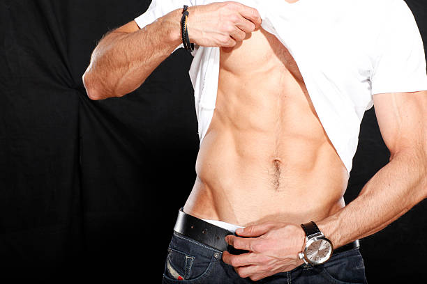 筋肉の胃 ストックフォト