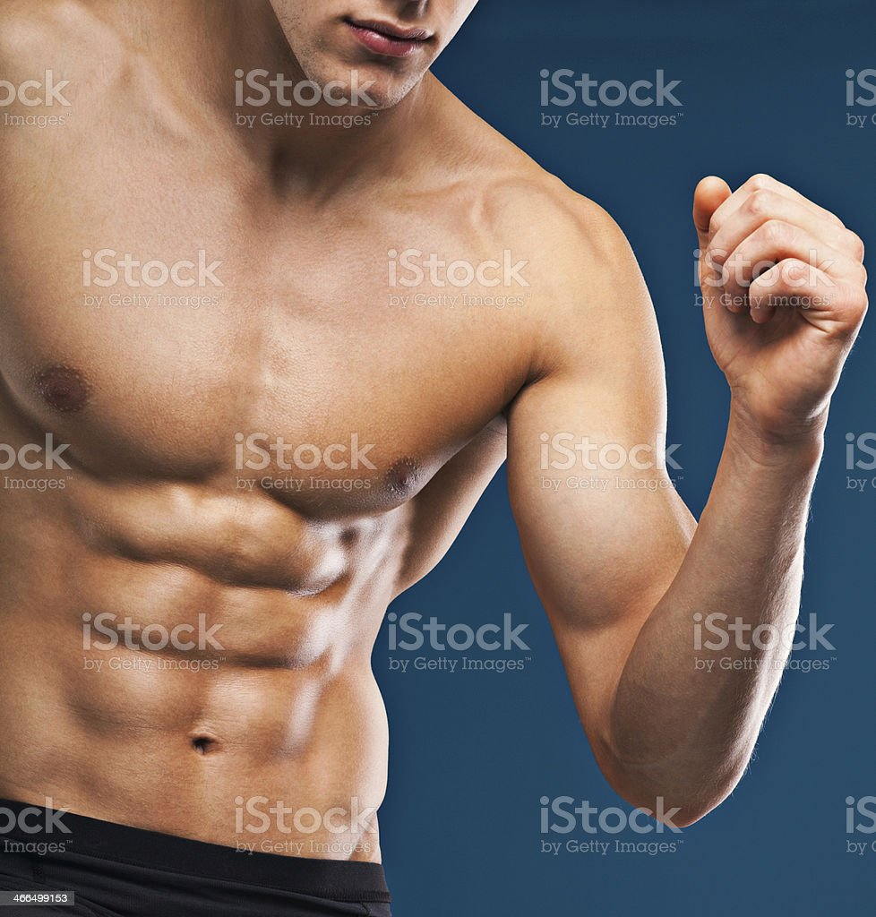 Muscular Torso Stock Photo More Pictures Of Abdominal Muscle Istock