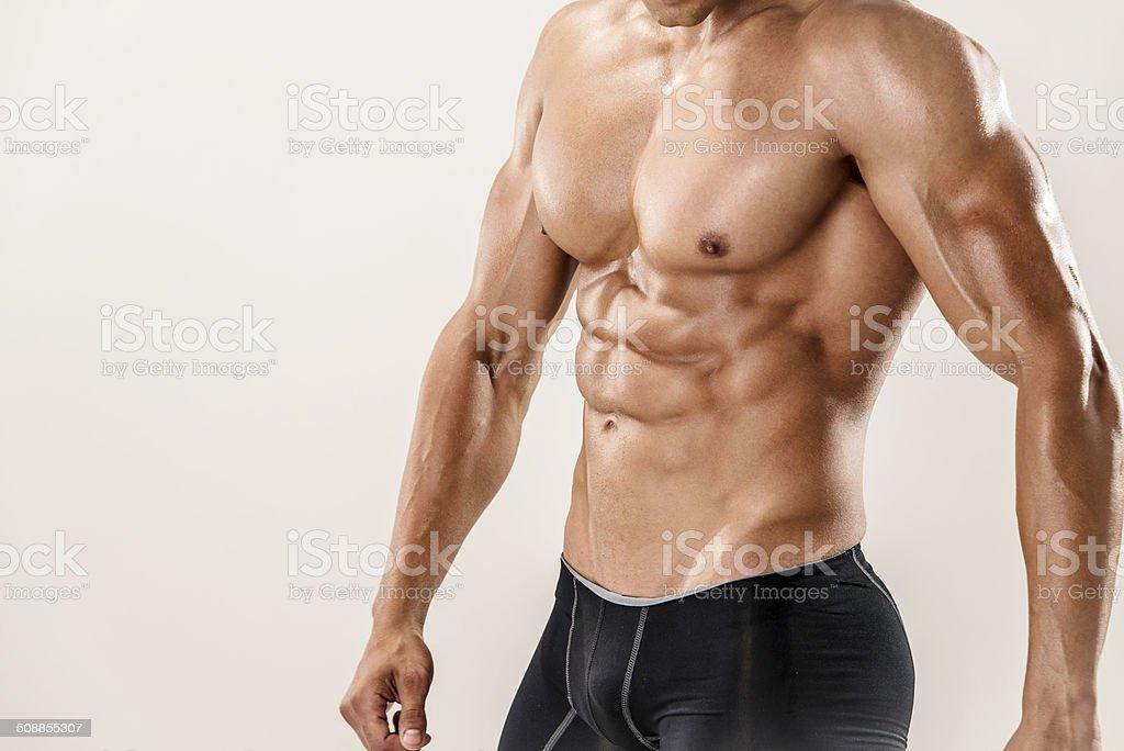 Muscular Torso Stock Photo More Pictures Of Abdomen Istock