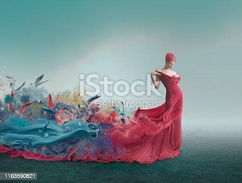 181894581 istock photo Muse and femininity 1163590821