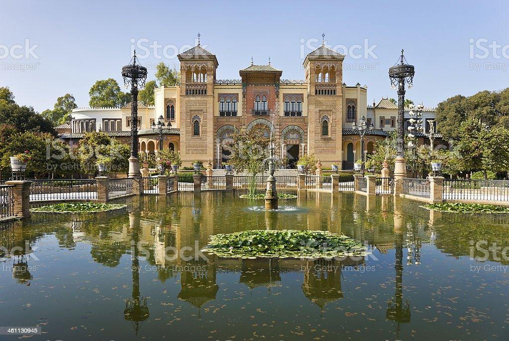Museo De Artes Y Costumbres Populares in Seville, Spain royalty-free stock photo