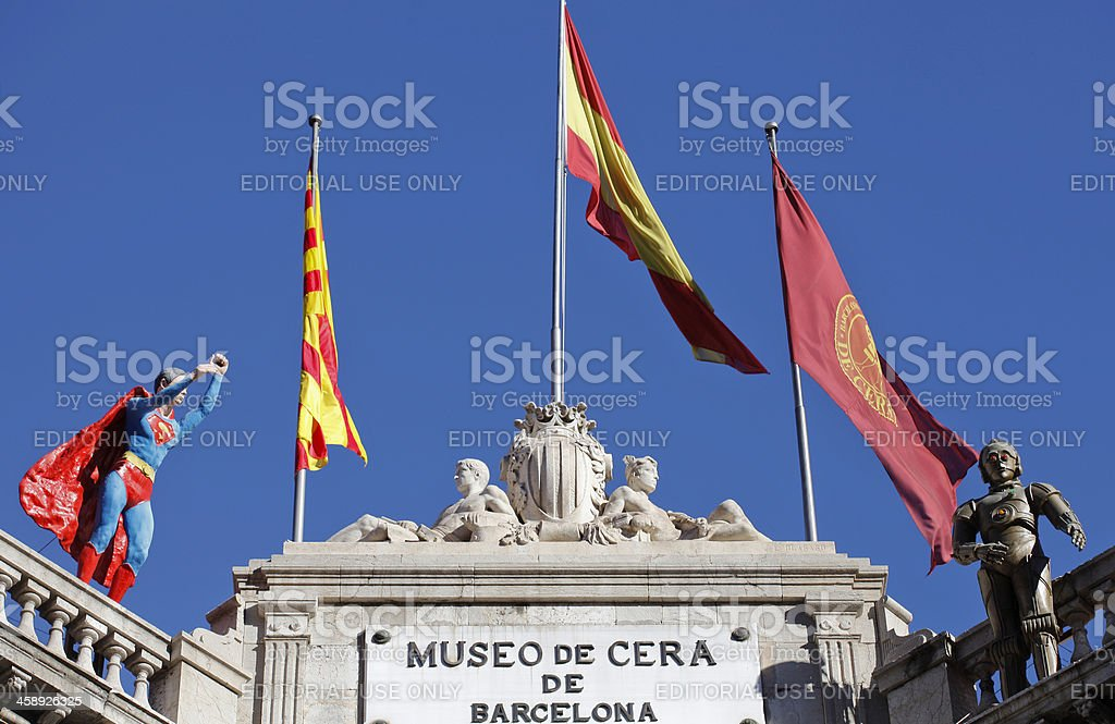 Museo de Cera royalty-free stock photo