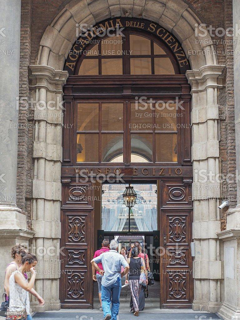 Museo Egizio in Turin stock photo