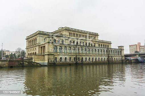 istock Museum by the river in Kaliningrad 1207948502