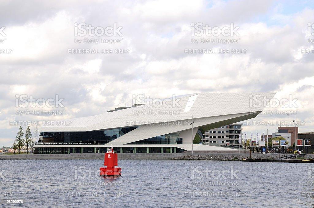 Museum EYE in Amsterdam royalty-free stock photo