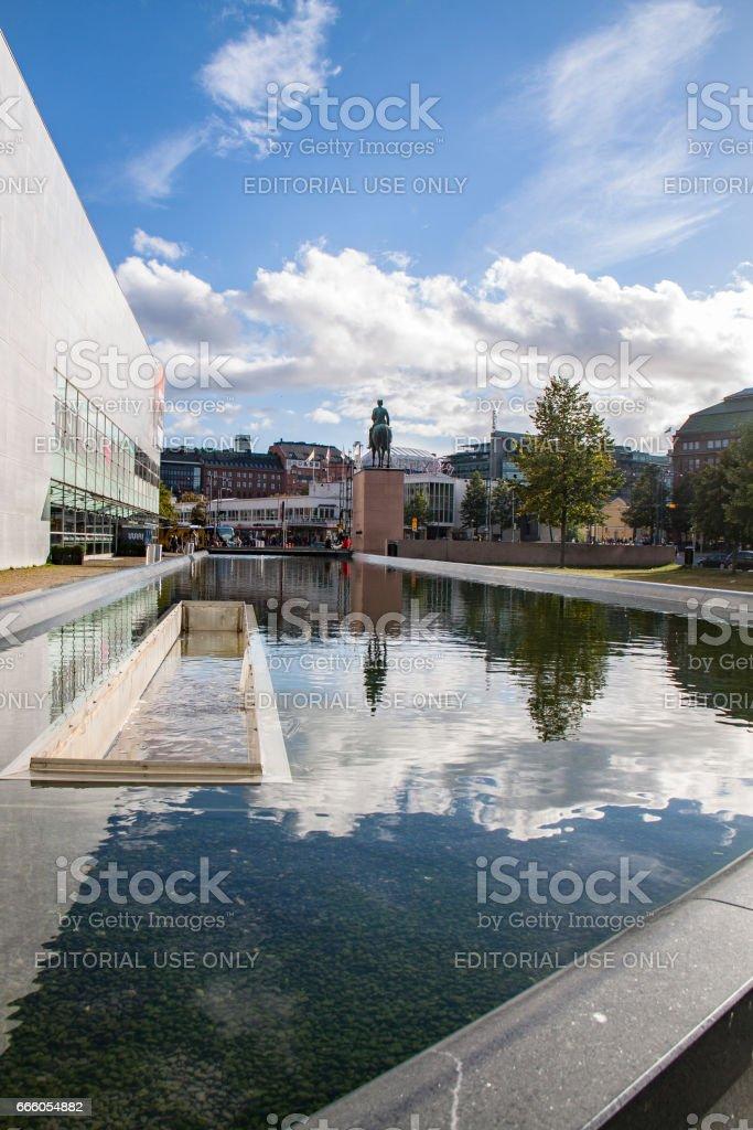 Museum for modern art Kiasma stock photo