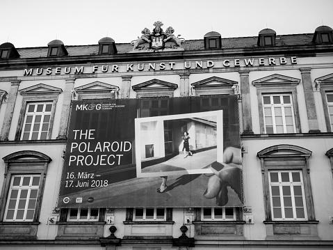 Museum fur Kunst und Gewerbe facade in Germany