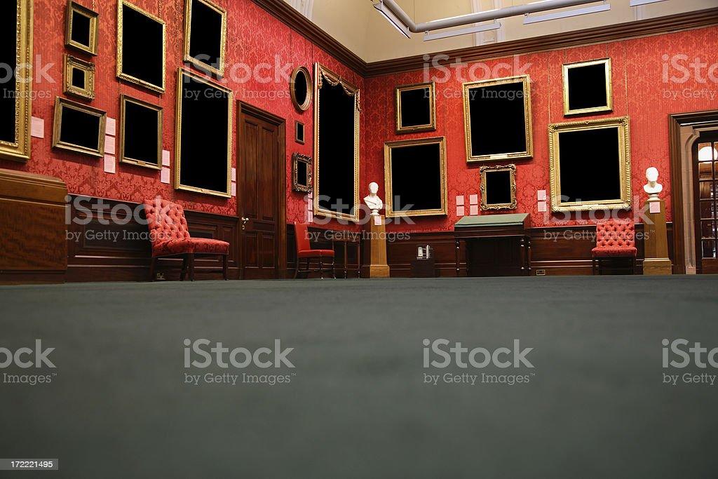 Museum Gallery stock photo