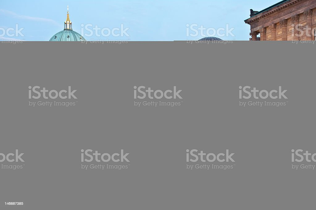 Museumsinsel, Berlin, Berliner Dom, Abend stock photo