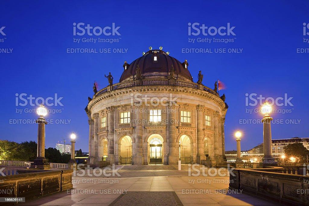 Museum Island, Berlin stock photo
