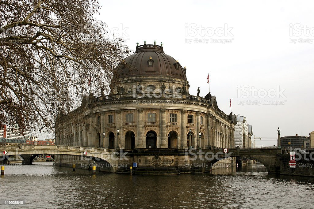 Museumsinsel in Berlin royalty-free stock photo