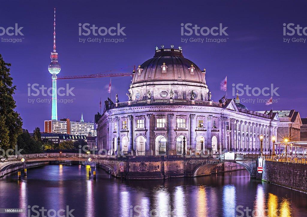 Museum Island in Berlin stock photo