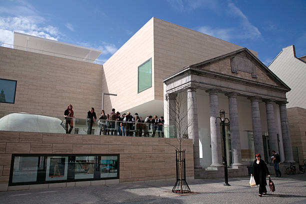 M Museum, Leuven, Flanders, Belgium. – Foto