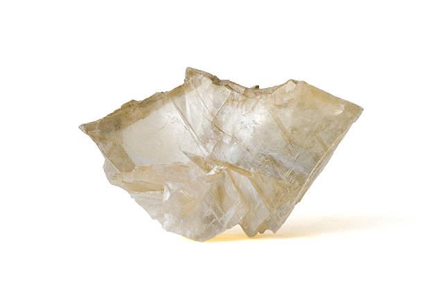 Musée minéraux series: Grand Gypse crystal. 15 cm en face. - Photo