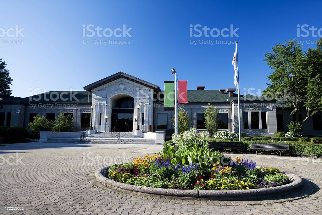 Museum of African-American History, Chicago royalty-free stock photo