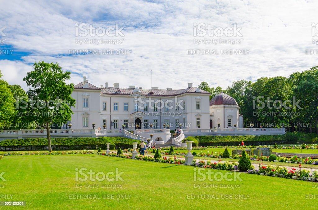 Museum of Amber in Botanical Park, Palanga, Lithuania stock photo