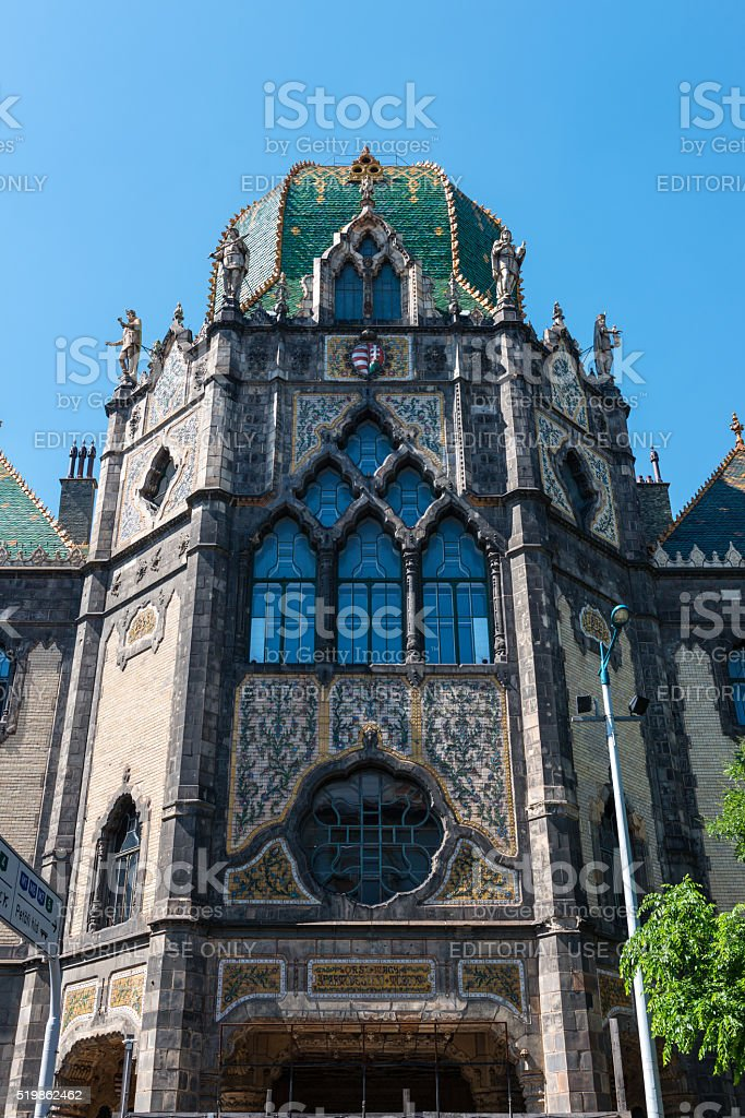 Museum Of Applied Arts In Budapest Hungary Stock Photo Download Image Now Istock