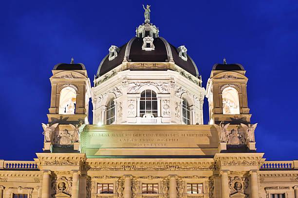 museum of art history in wien - kunsthistorisches museum wien stock-fotos und bilder