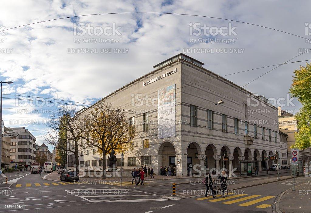 Museum of Art in Basel, Switzerland – Foto