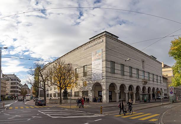 Museum of Art in Basel, Switzerland - foto de stock