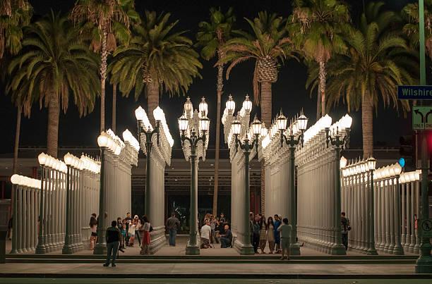 Museum of Art in Los Angeles, California, USA – Foto