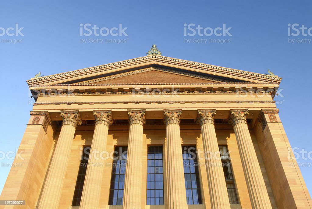 Museum of Art stock photo