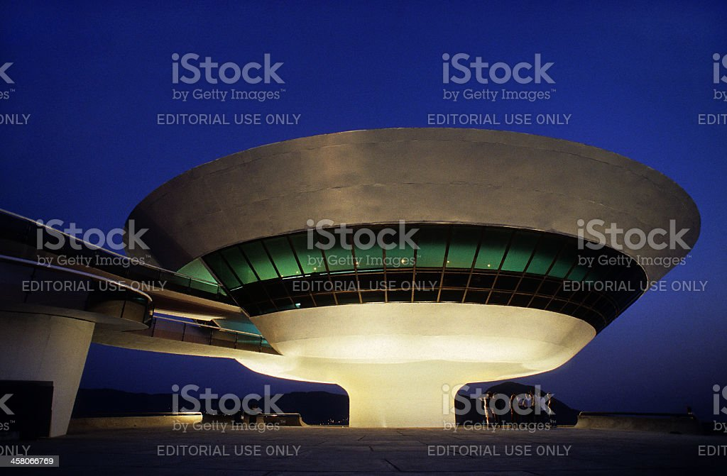 MAC - Museum of Conteporary Art stock photo