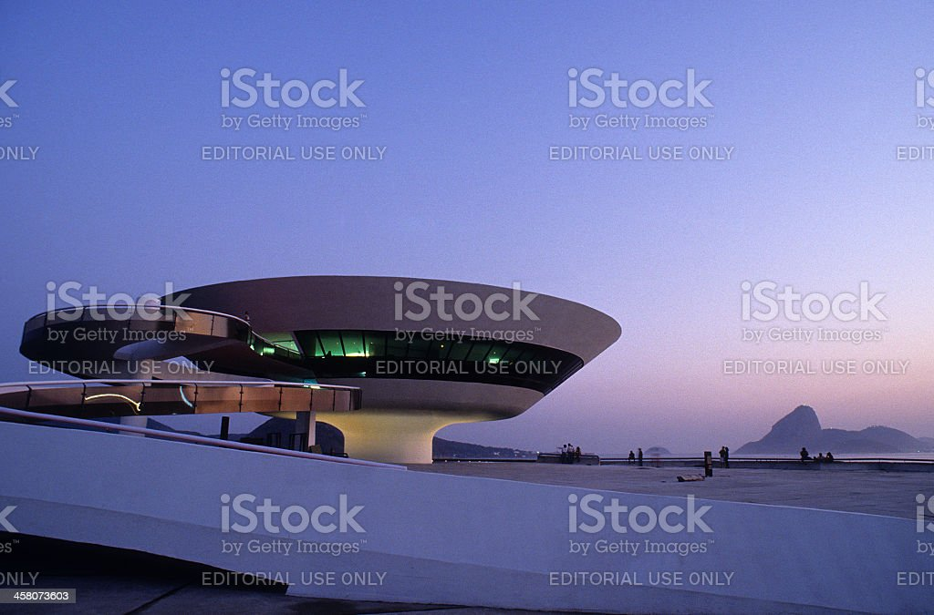 MAC - Museum of Conteporary Art royalty-free stock photo