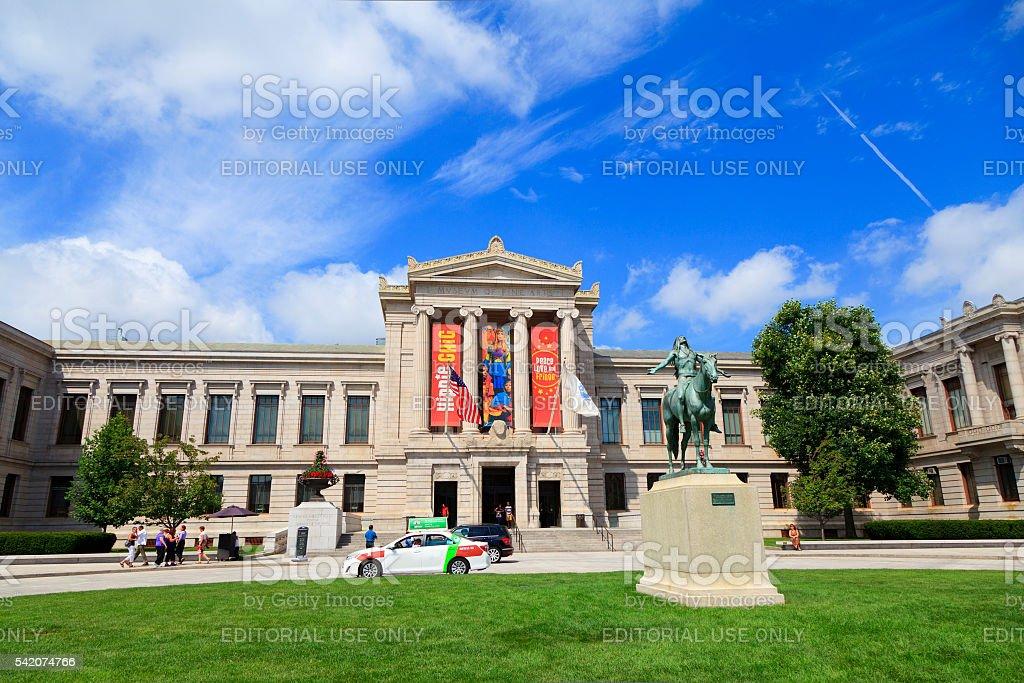 Museum of Fine Arts, Boston stock photo