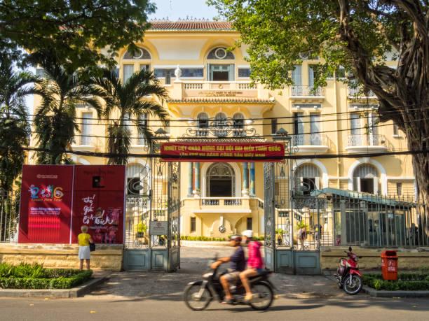 Museum of Fine Arts - Ho Chi Minh City stock photo