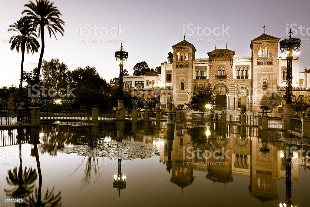 Museo de Artes y Costumbres Populares royalty-free stock photo