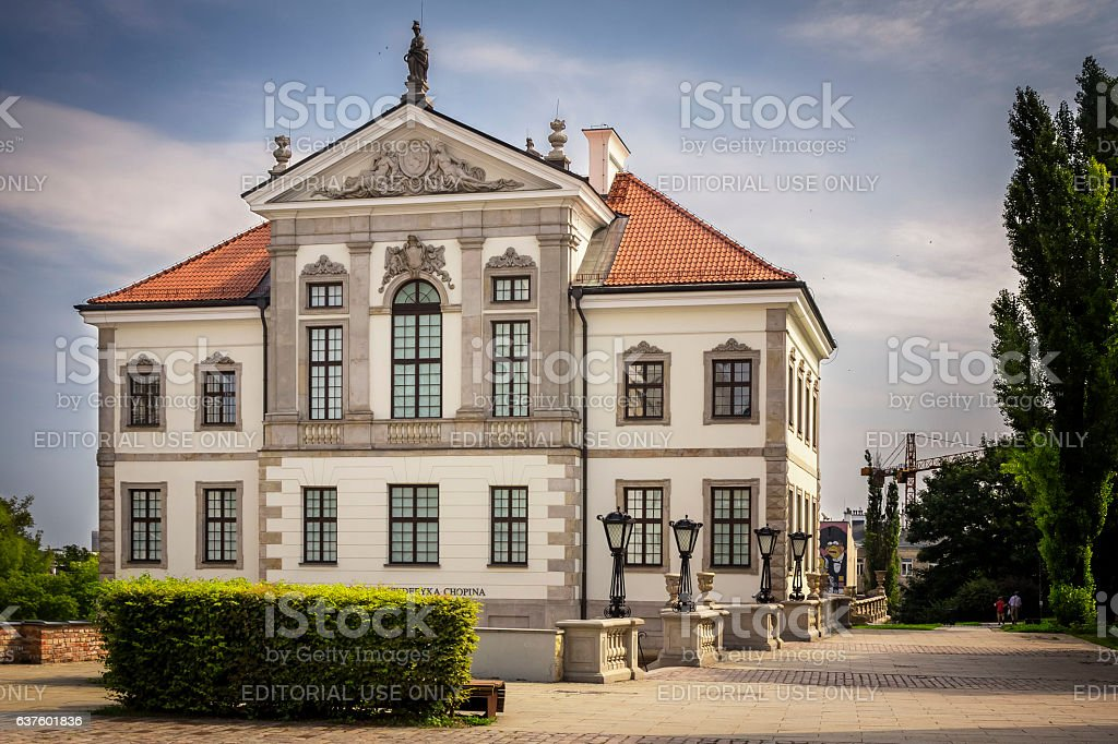 Museum of Frederick Chopin, Warsaw, Poland stock photo