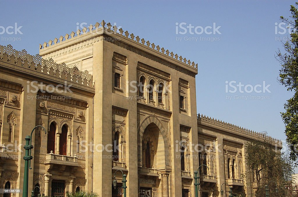 Museo di arte islamica, Il Cairo foto stock royalty-free