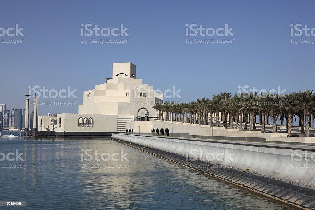 Museum of Islamic Art, Doha Qatar stock photo