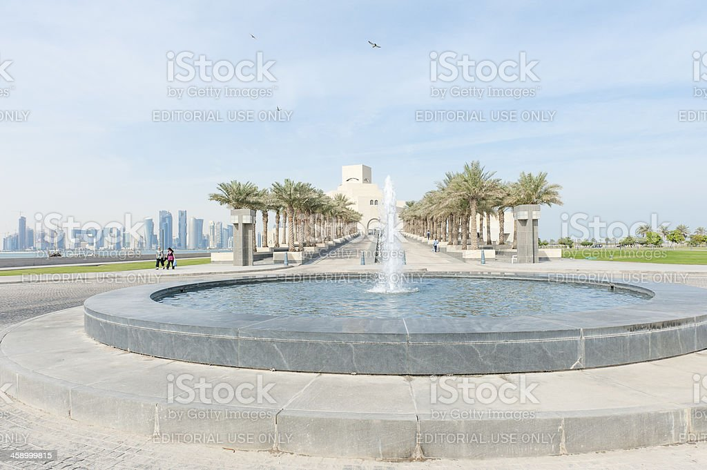 museum of Islamic Art in Doha, Qatar stock photo